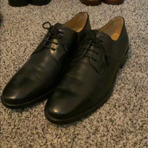 Cole Haah Black Dress Oxfords